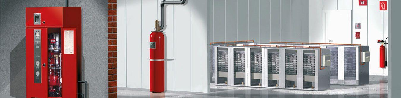 سیستم اطفای حریق FM200